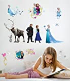 RoomMates RMK2361SCS Frozen Peel and Stick Wall Decals, 36 Count Picture