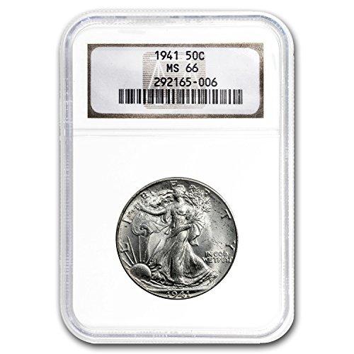 1941 Walking Liberty Half Dollar MS-66 NGC Half Dollar MS-66 NGC