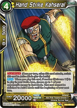 Strike Single - Hand Strike Kahsera (Foil) - TB01-090 - UC - The Tournament Of Power