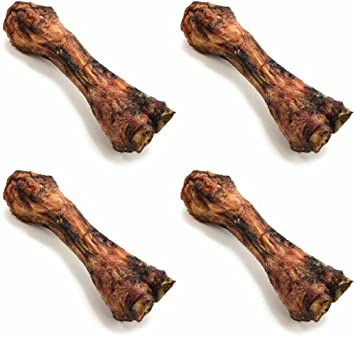 ValueBone USA Smoked Beef Shin Bones, All Natural Dog Chews