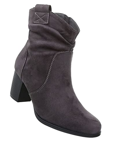 Damen Schuhe Stiefeletten Western Style Boots: