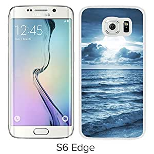 Blue Ocean Beach At Dusk (2) Durable High Quality Samsung Galaxy S6 Case