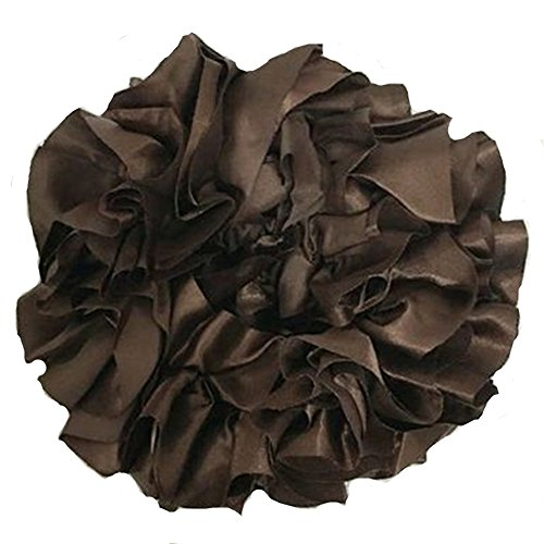 Volumising Scrunchie Hair Tie Ring Hijab Volumizer Headwear Rubber Band Coffee