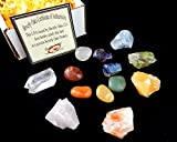 Chakra Mineral Starter Set/Crystal Healing Kit