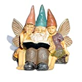 Story Time for Gnomes for Miniature Garden, Fairy Garden