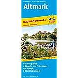 Altmark: Radwanderkarte mit Ausflugszielen, Einkehr- & Freizeittipps, wetterfest, reißfest, abwischbar, GPS-genau. 1:100000 (Radkarte / RK)