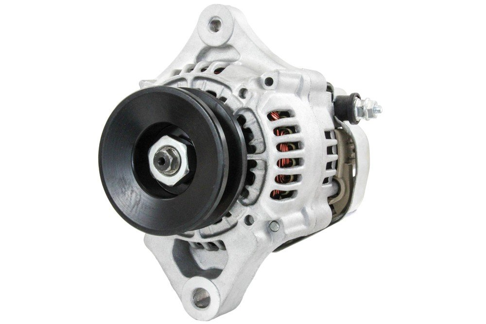 NEW 12V 40A ALTERNATOR KUBOTA ENGINES V1505 D1105 16678-64011 16678-64012 100211-4730 1667864011, 1667864012, 1002114730 RAREELECTRICAL