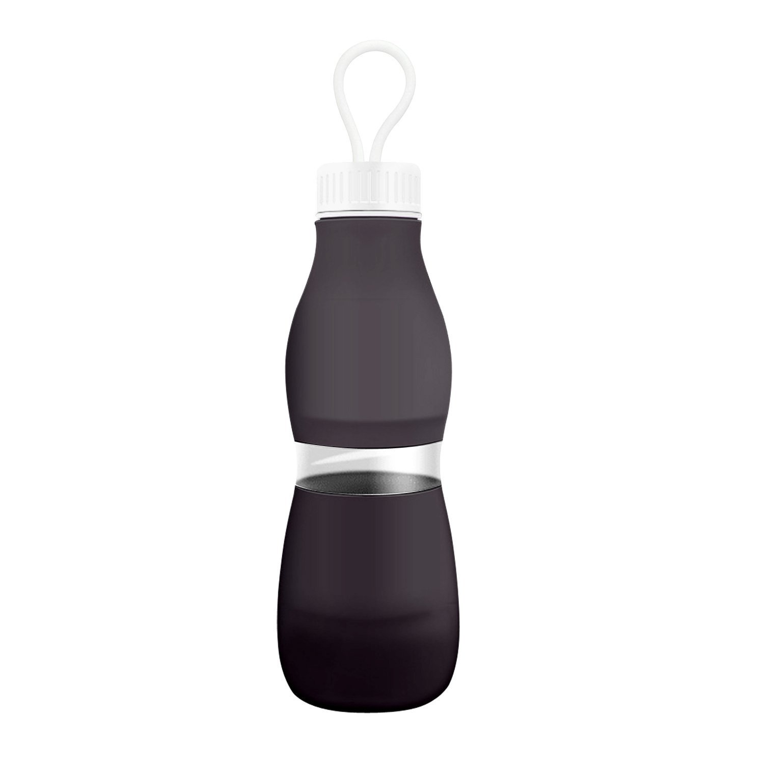 Collapsible Water Bottles Travel Outdoor Camping Sports Foldable Food-Grade Silicone Leak Proof Cap by AUTO PDR