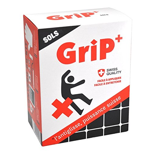 Kit antidérapant antiglisse complet GriP + Sols transparent 2 m² Grip Safety Coatings Ag