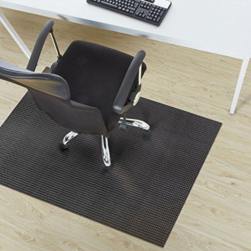 Design Bodenschutzmatte Lucca in 6 Größen | dekorative Unterlegmatte für Bürostühle oder Sportgeräte (120 x 90 cm)