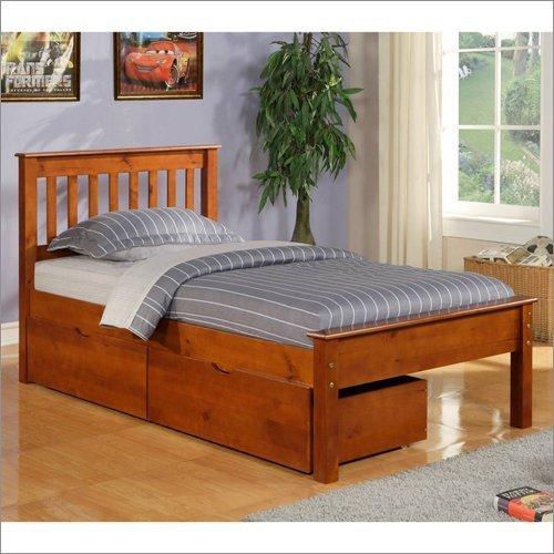 Donco Kids 500FE Series Bed, Full, Light Espresso by Donco Kids