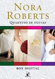 Box Quarteto de noivas: Série completa com os 4 títulos - Álbum de casamento, Mar de rosas, Bem-casados e Feli