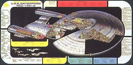 amazon com giant 48 star trek next generation enterprise d cut
