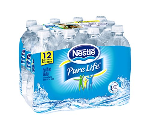 NestlŽ Pure Life Purified Water, 16.9-ounce plastic