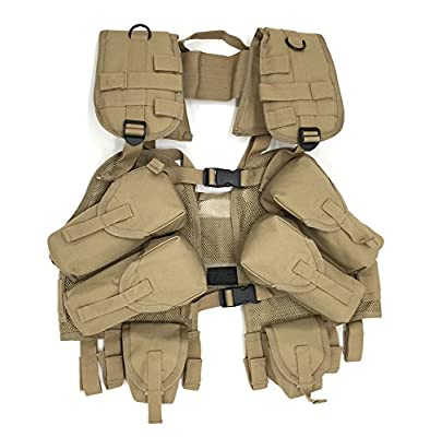 TAC Force Load Bearing Vest Vest, Desert Tan