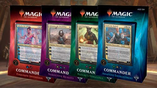 Commander Deck 2018 MTG Set All 4 Decks