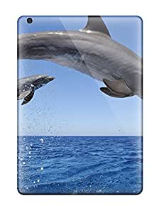 For Ipad Air Premium Tpu Case Cover Common Bottlenose Dolphins Protective Case