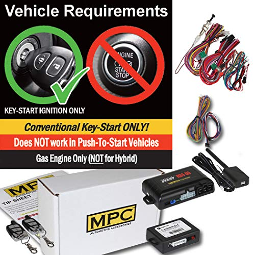 Complete Remote Start Kit with Keyless Entry for 1998-2003 Acura TL - Includes Bypass Module and (2) 5 Button - Acura Start Bypass Remote Module
