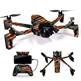 MightySkins Skin for Parrot Anafi Drone - Vintage American | Protective, Durable, and Unique Vinyl Decal wrap Cover | Easy to Apply, Remove, and Change Styles | Made in The USA