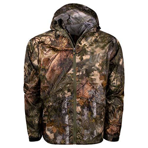 - King's Camo Men's Climatex Rainwear Jacket, Mountain Shadow, Large