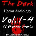 The Dark, Volumes 1-4 Audiobook by David Hernandez Narrated by  Commodore James