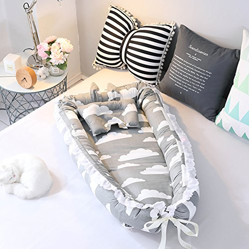 Ukeler Cotton Portable Travel Infant Bed,Crib,Bassinet, for sale  Delivered anywhere in USA