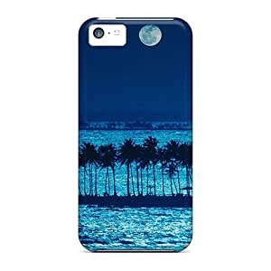 Awesome Cases Covers/iphone 5c Defender Cases Covers(blue Moonlight)