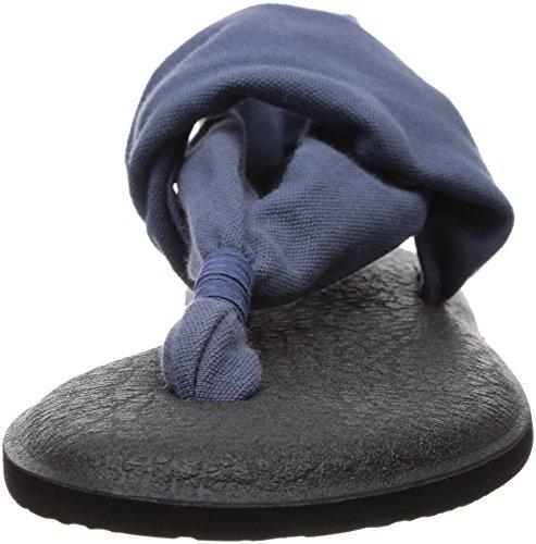 Sanuk Frauen Yoga Sling 2 Flip Flop Schieferblau