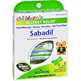 Boiron Childrens Sabadil Pellets - 2 Tubes (Pack of 2)