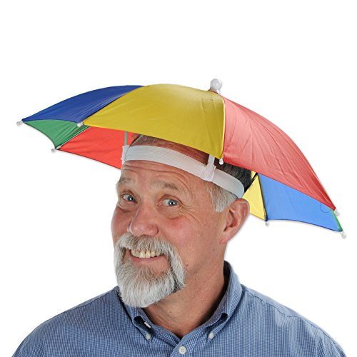 Beistle 60832 Umbrella Hat (Adult Novelty Hats)