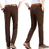 INFLATION Men's Stretchy Slim Fit Casual