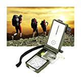 Multifunction Outdoor Military Camping Hiking Survival Tool Compass Kit