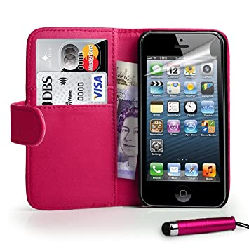 Coque iPhone Portefeuille Housse Stylet dp BEJGZWC