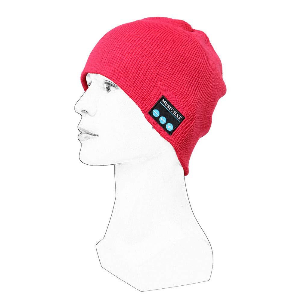 b32c6cf896d Honhui Wireless Bluetooth Smart Beanie Hat
