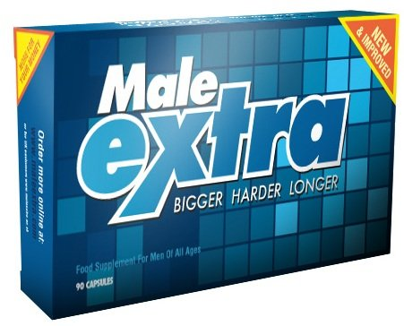 Male Extra Sexual Performance Enhancement Pill and Testosterone Booster - 90 Capsules