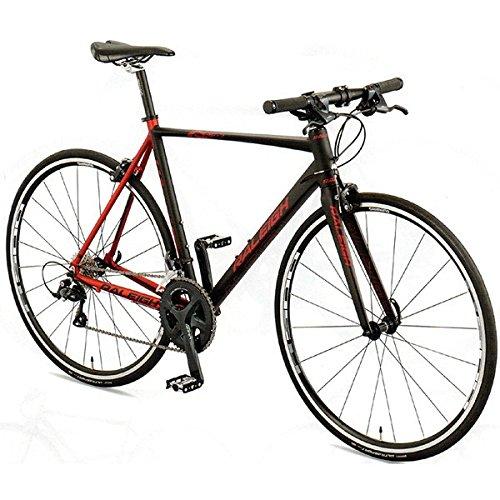 RALEIGH(ラレー) クロスバイク Radford-7 (RF7) ブラック/レッド 460mm B07677GWV6