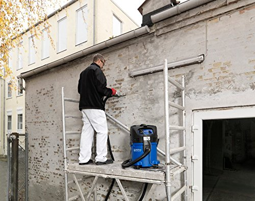 1500 W caudal de aire 3700 l//min Aspirador monof/ásico de agua y polvo color negro y azul dep/ósito 30 l Nilfisk 107407544