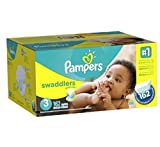 Pampers Swaddlers Diapers-Size 3 Economy, Pack-162 Count New!!!