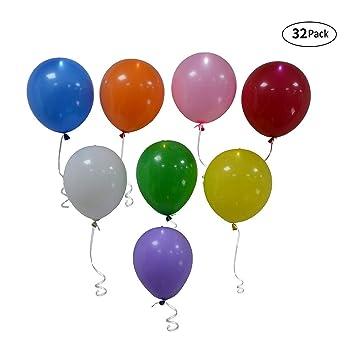 Mixed Birthday Style LED Light Up Illoom Balloons Party Luminous Birthday Events