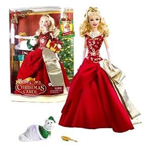 "Amazon.com: Mattel Year 2008 Barbie Holiday Movie Series ""A Christmas Carol"" 12 Inch Doll - Eden ..."