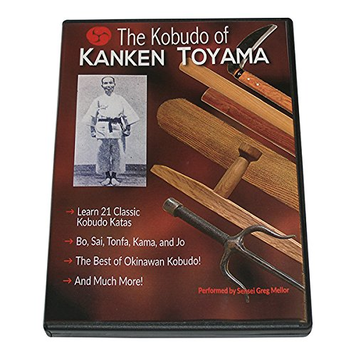 Japanese Okinawan Karate Kobudo of Kanken Toyama Sai Tonfa Jo Bo Kama DVD