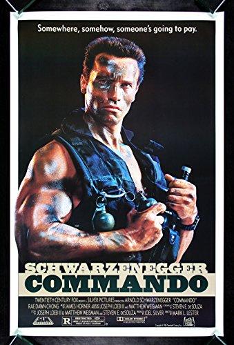 Commando Special Forces (COMMANDO * CineMasterpieces ORIGINAL MOVIE POSTER GUN ARMY SPECIAL FORCES 1985)