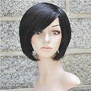 YAMEIJIA 100% Short Human Hair Wig for Short Women