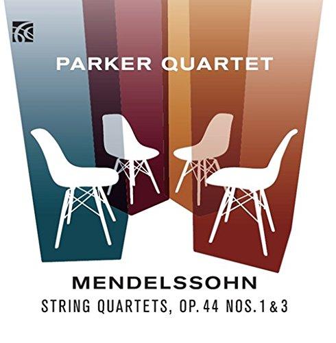 Price comparison product image Mendelssohn: String Quartets, Op. 44 Nos. 1 & 3