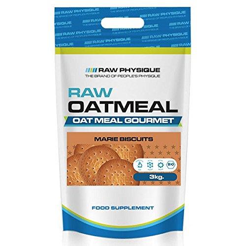 Raw Physique - Harina de Avena - 3 kg - Galletas Maria y crema