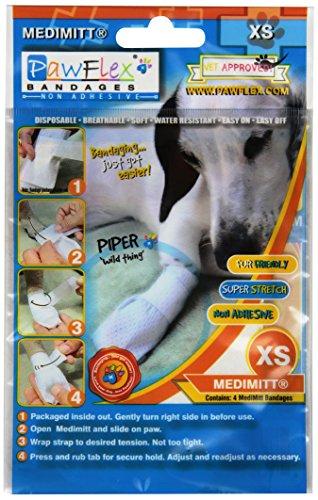 Pictures of Pawflex Bandages Medimitt BandagesPets (Pack of 4) ROM002 1