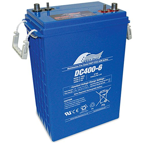 Fullriver 903 L16 6V 415Ah AGM Sealed Lead Acid Battery DC400-6 by Fullriver