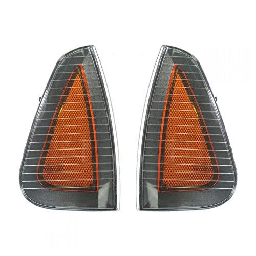 Side Marker Parking Turn Signal Corner Lights Pair Set for 06-10 Charger