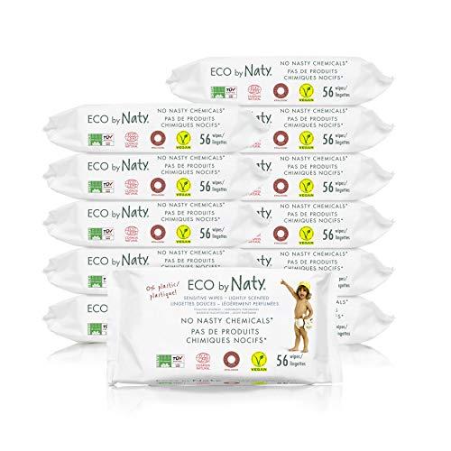 🥇 Eco by Naty Toallitas con Fragancia para bebé