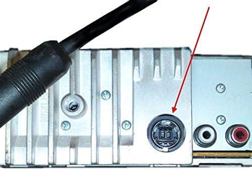9847R 9851R 9812RB 9831R 9833R 9855R 9535R Keple Zusatzkabel Adapter Stereos Alpine Aux Jack 3,5 mm Konverter Kompatibel mit Alpine//JVC Stereo CDA 7998R 9854R 9853R 9830R